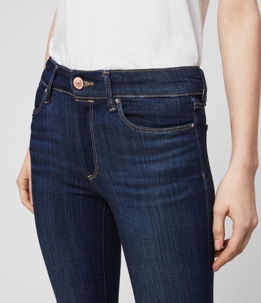 Damen Miller Mittel-Hochtailliert Skinny Jeans, Dunkles Indigo Blau (dark_indigo_blue) - Image 2