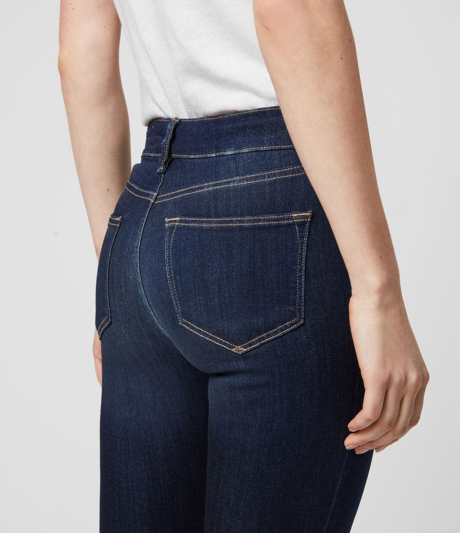 Damen Miller Mittel-Hochtailliert Skinny Jeans, Dunkles Indigo Blau (dark_indigo_blue) - Image 6