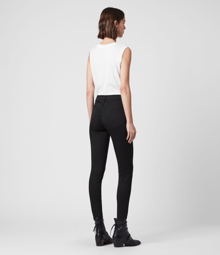 Womens Miller Mid-Rise Superstretch Skinny Jeans, Stay Black (stay_black) - Image 5