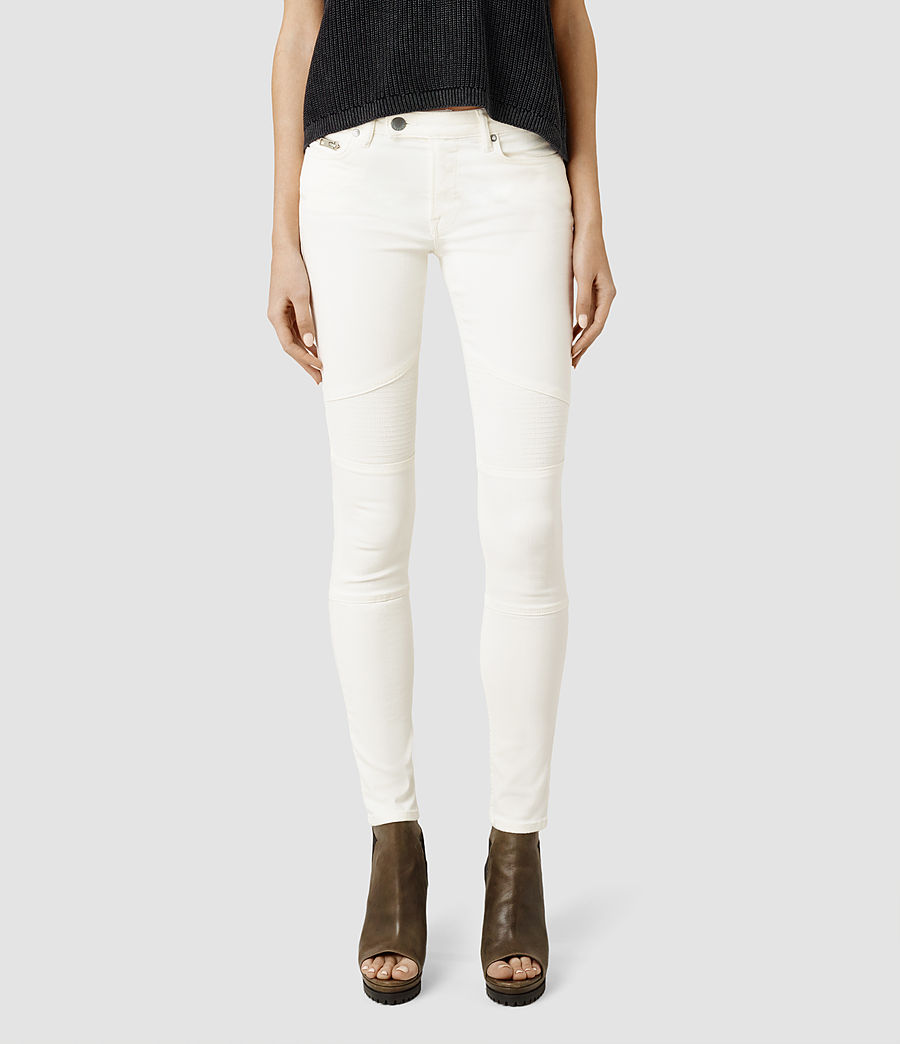 Off White Jeans Womens - Jeans Am