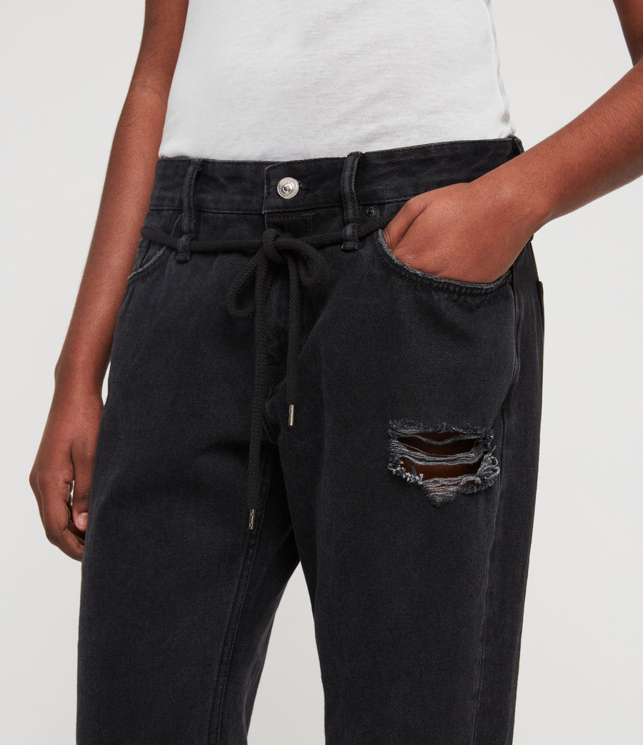 Mujer Jeans Alana Boyfriend (washed_black) - Image 4