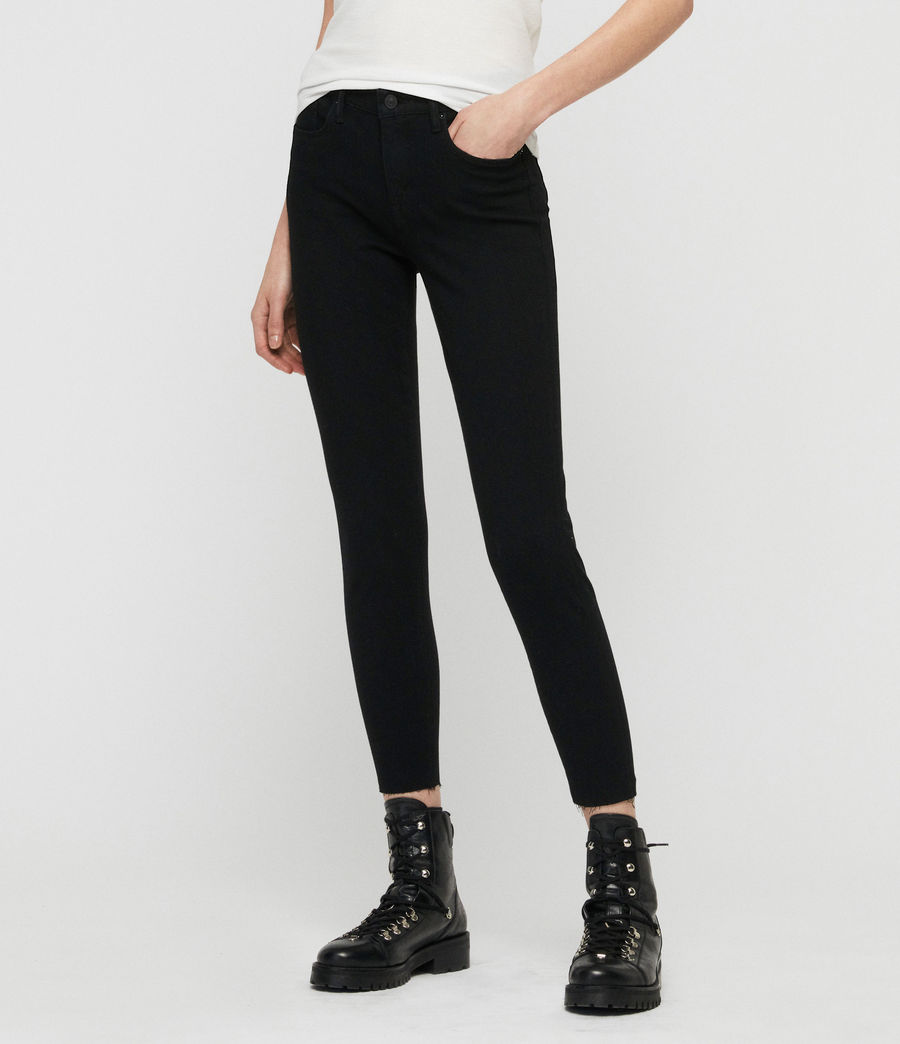Donne Jeans Grace Bistretch (black) - Image 4
