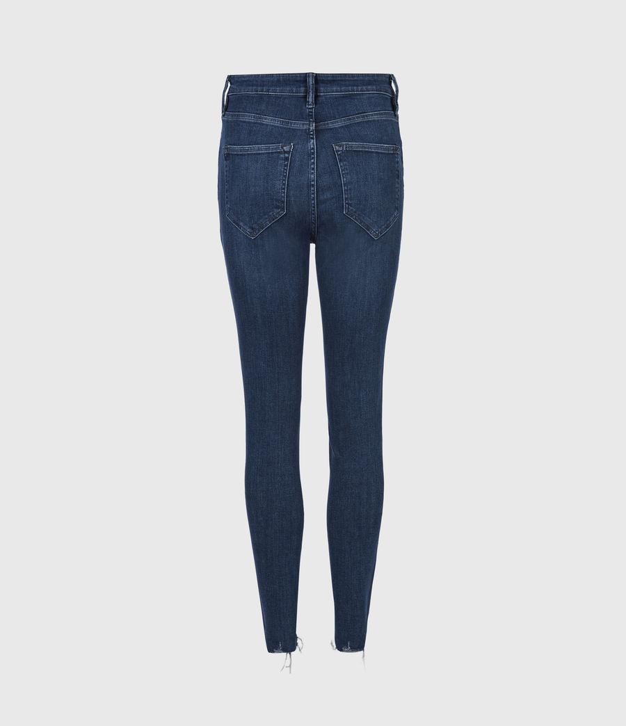 Women's Sadie Sky High Superstretch Skinny Jeans, Dark Indigo (dark_indigo) - Image 3