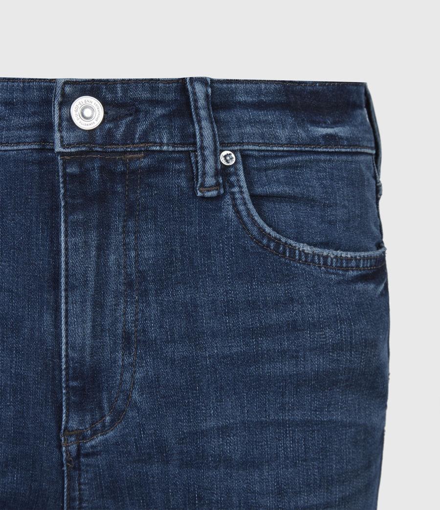 Women's Sadie Sky High Superstretch Skinny Jeans, Dark Indigo (dark_indigo) - Image 5