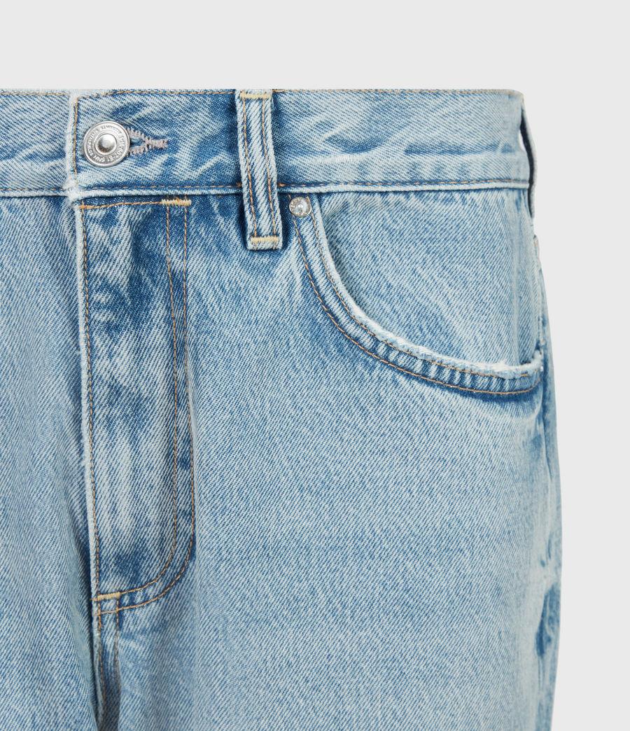 Women's April High-Rise Boyfriend Jeans, Light Indigo (light_indigo) - Image 5
