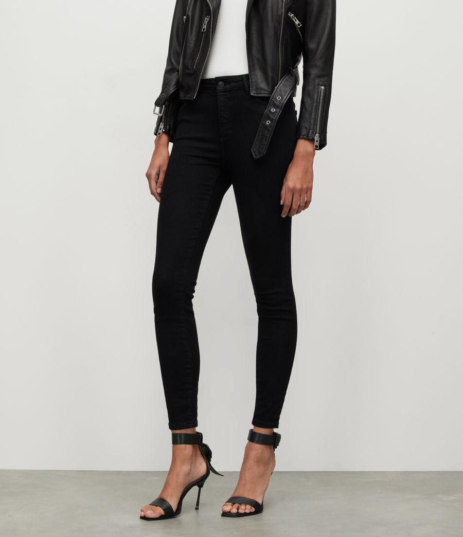 Women's Miller Mid-Rise Size Me Jeans, Black (black) - Image 2