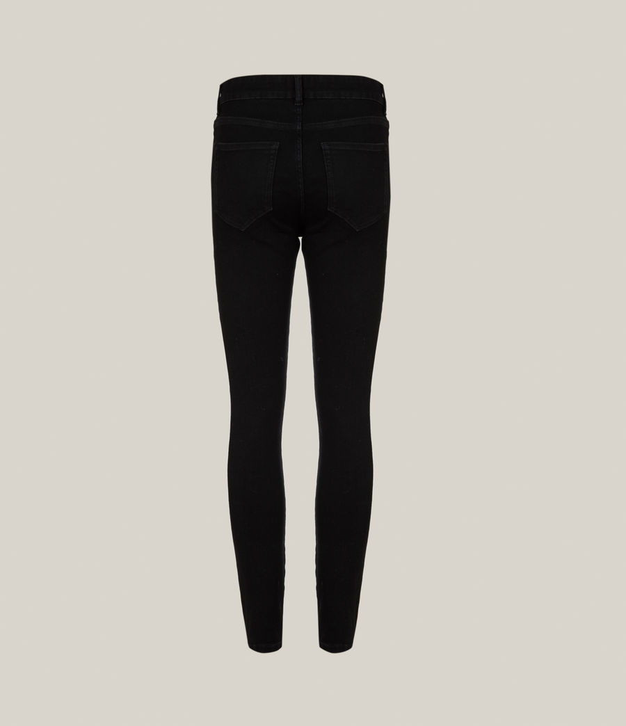 Women's Miller Mid-Rise Size Me Jeans, Black (black) - Image 3