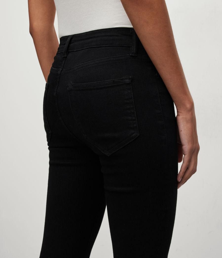 Women's Miller Mid-Rise Size Me Jeans, Black (black) - Image 4
