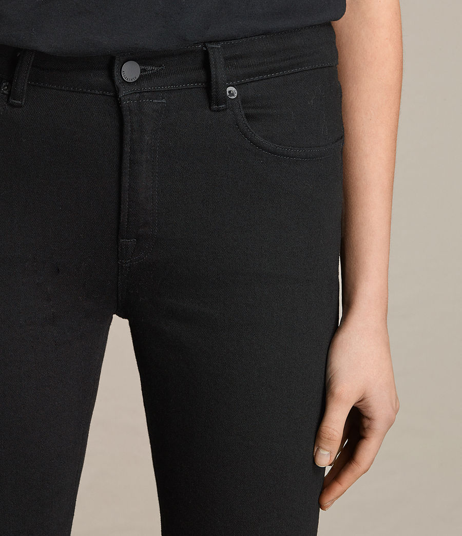 Donne Jeans Zoe Cropped Bootcut (jet_black) - Image 2