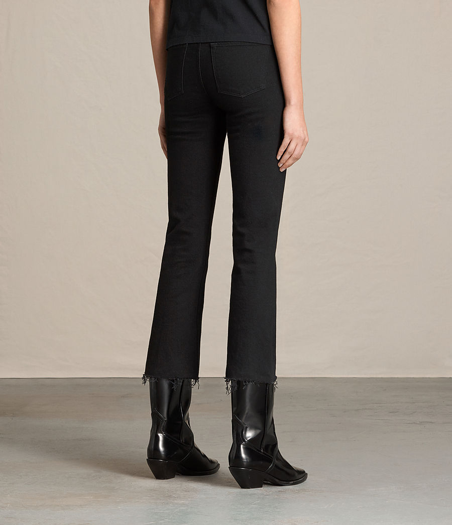 Donne Jeans Zoe Cropped Bootcut (jet_black) - Image 4