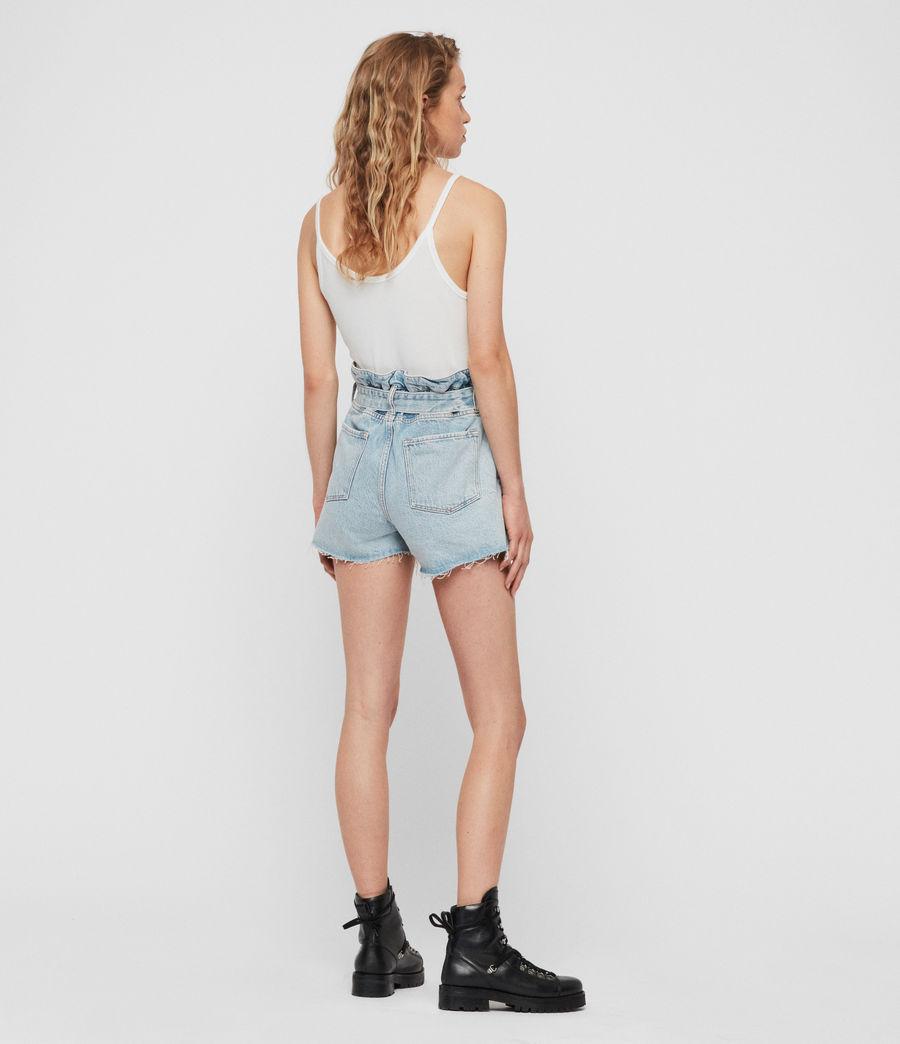 Donne Shorts Hannah Paperbag (snow_blue) - Image 6
