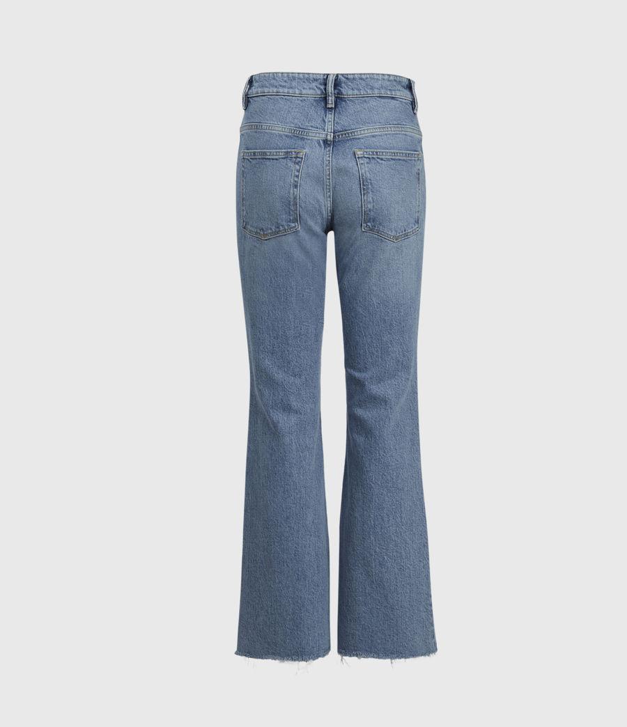 Women's Daisy High-Rise Kick Flare Jeans, Mid Indigo (mid_indigo) - Image 3