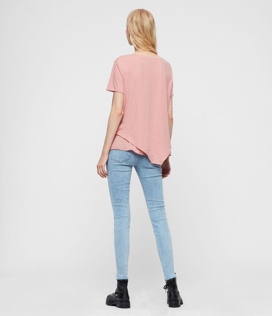 Womens Roxanne Cropped Skinny High-Rise Jeans, Light Indigo Blue (light_indigo_blue) - Image 7