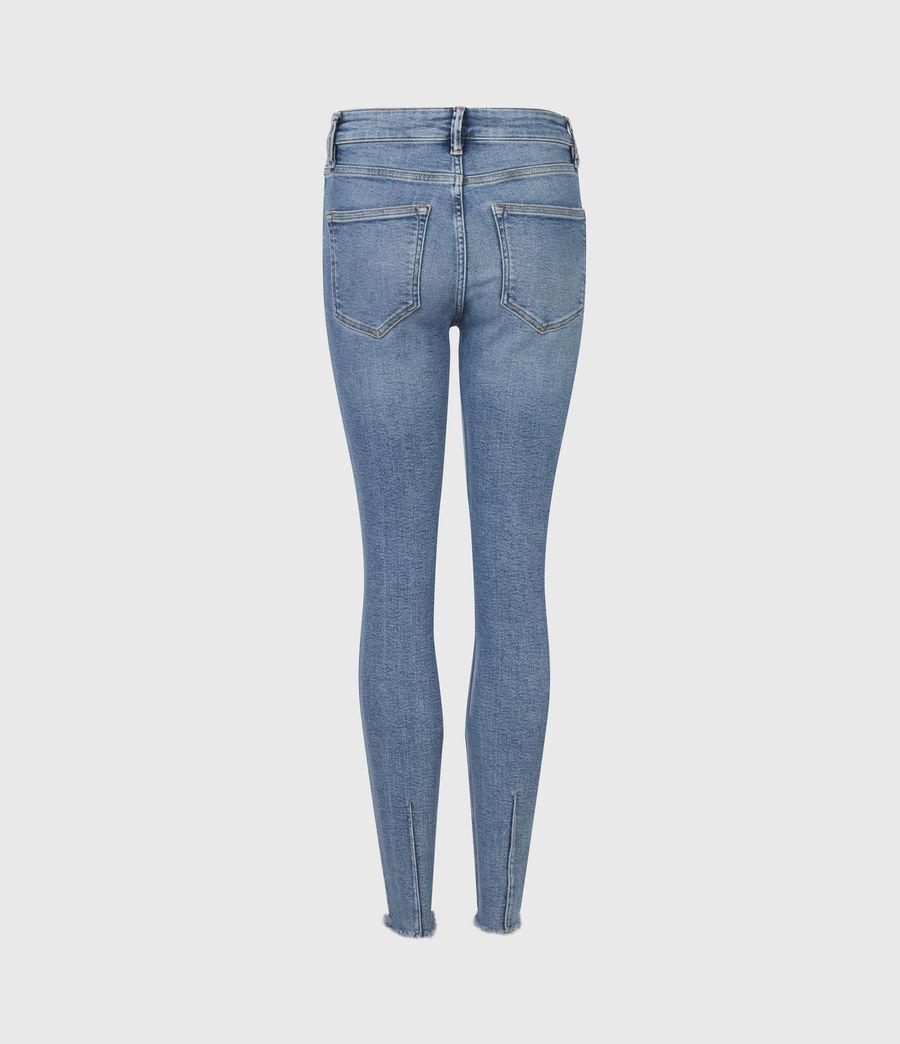 Womens Dax High-Rise Stretch Skinny Jeans, Indigo (mid_indigo) - Image 3