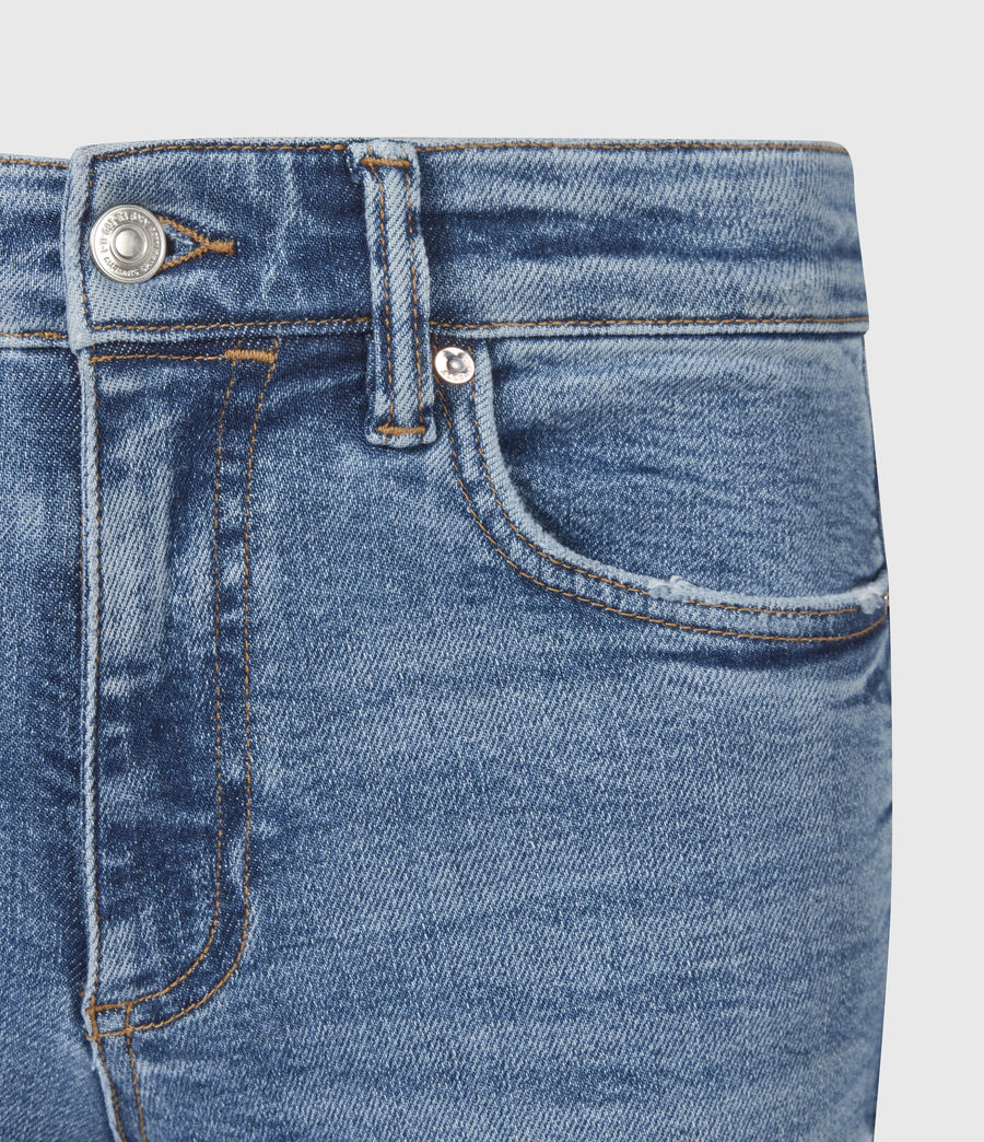 Womens Dax High-Rise Stretch Skinny Jeans, Indigo (mid_indigo) - Image 5