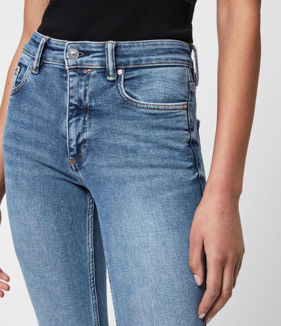 Womens Dax High-Rise Stretch Skinny Jeans, Indigo (mid_indigo) - Image 6