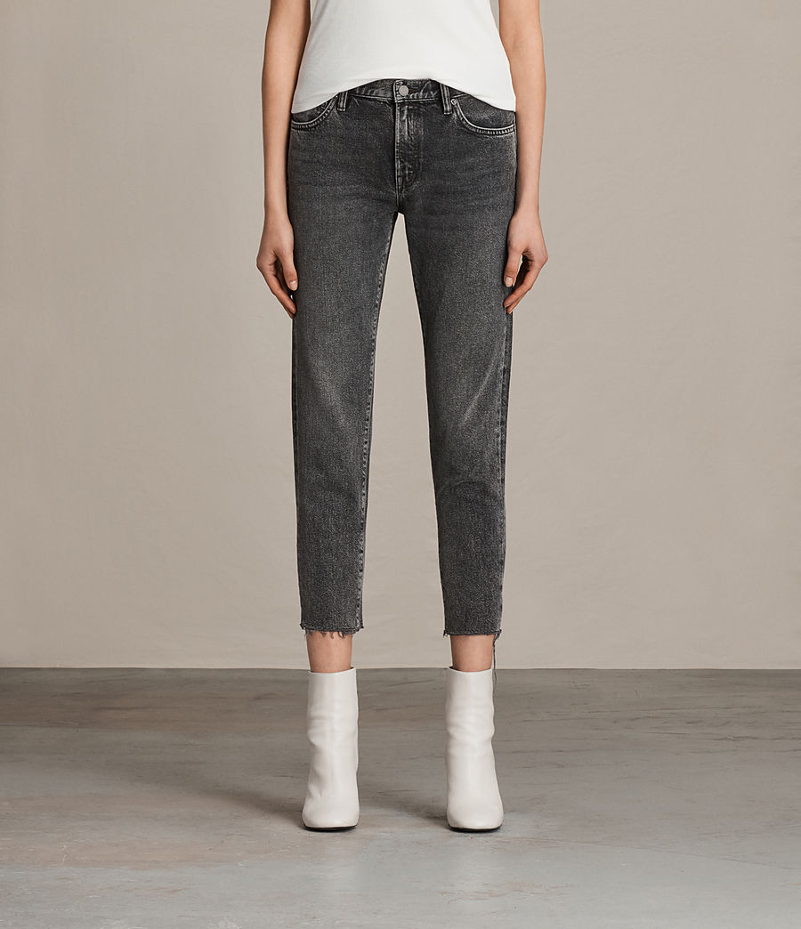 Women's Muse Slim Jeans (vintage_grey) - Image 1