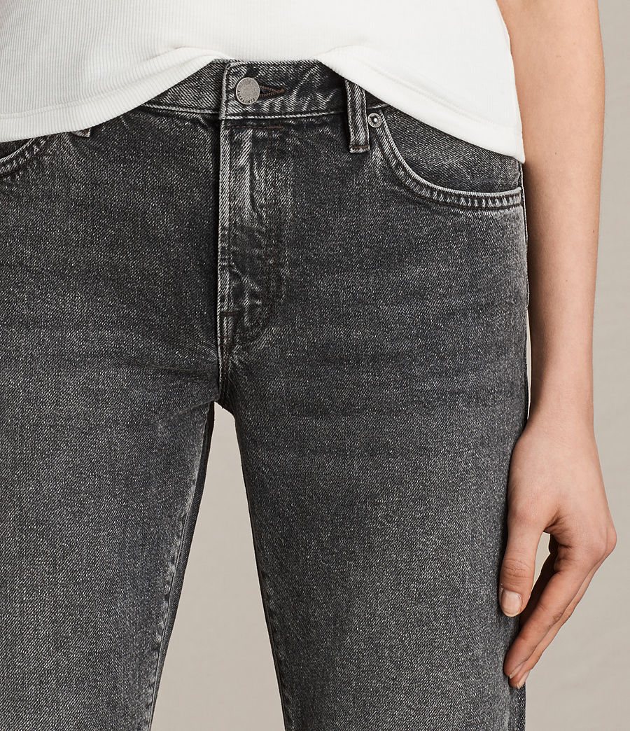 Women's Muse Slim Jeans (vintage_grey) - Image 2