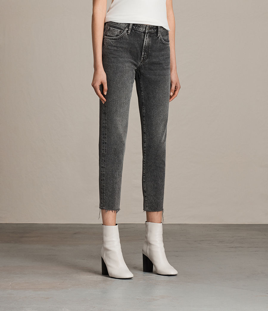 Women's Muse Slim Jeans (vintage_grey) - Image 3