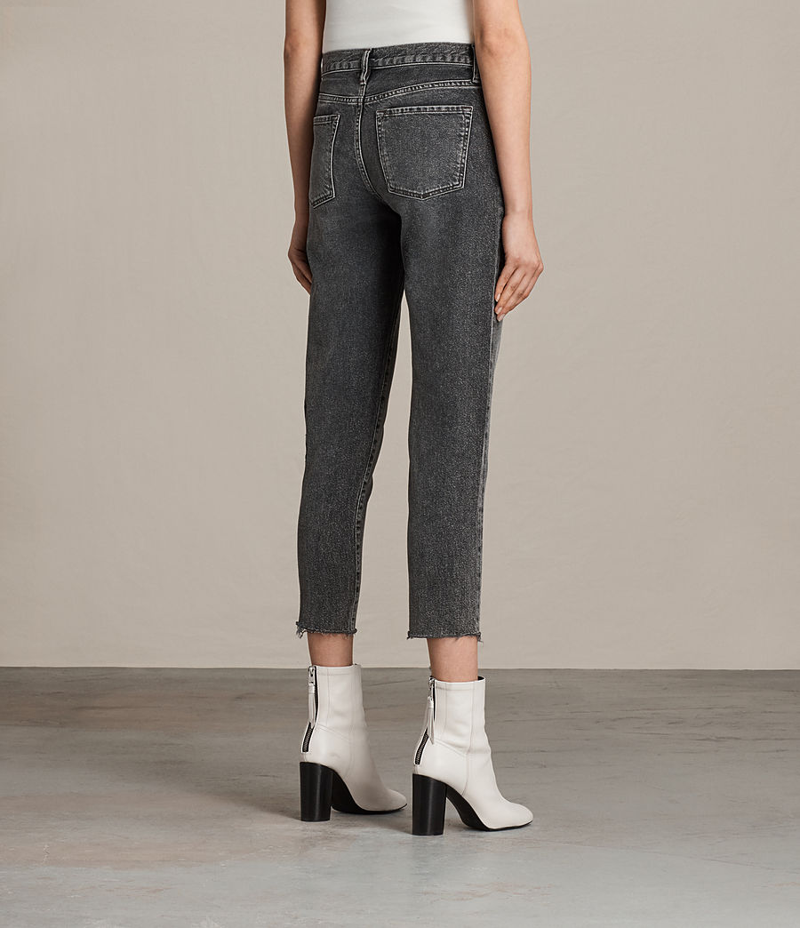 Women's Muse Slim Jeans (vintage_grey) - Image 4