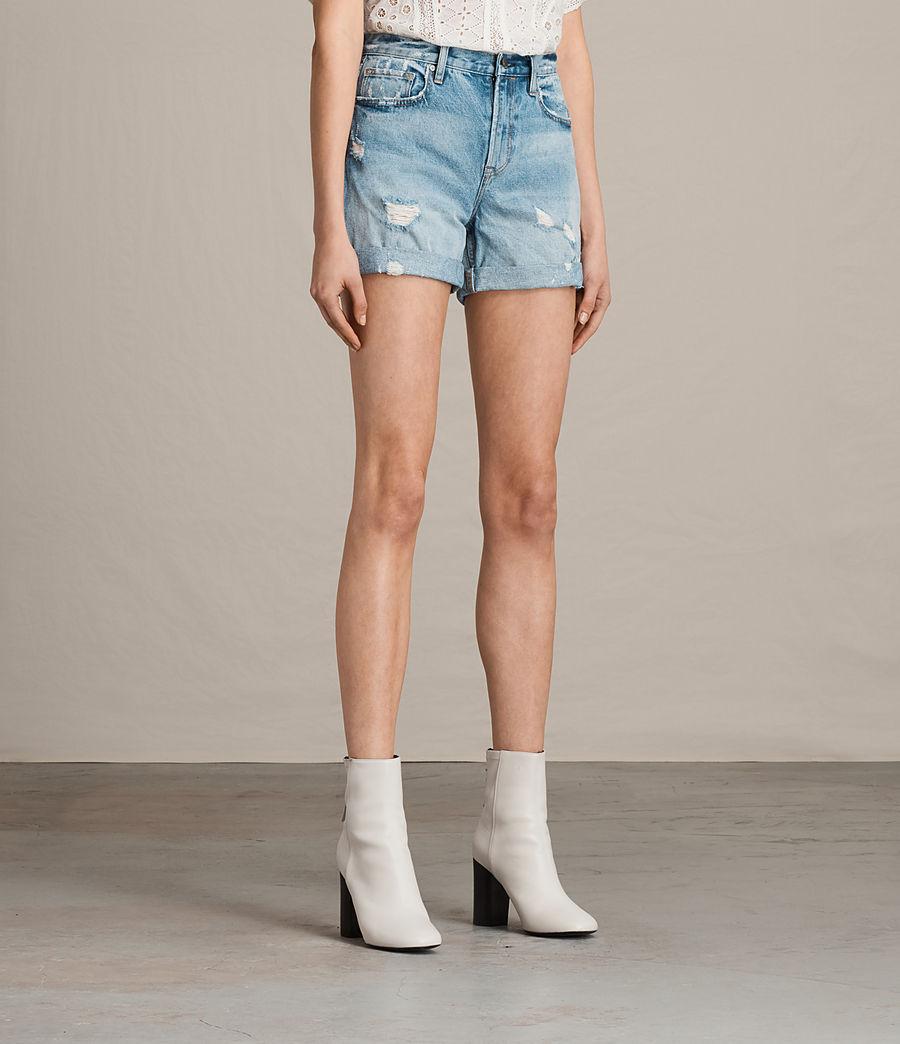 Damen Olivia Denim Shorts (mid_indigo_blue) - Image 3