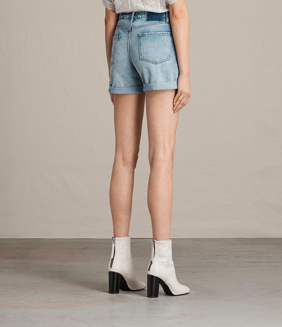 Damen Olivia Denim Shorts (mid_indigo_blue) - Image 5