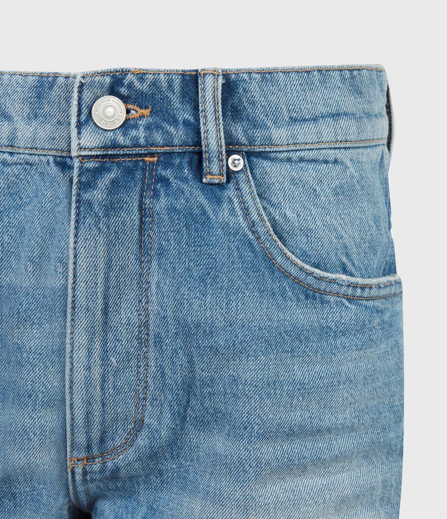 Womens Remi Cut Off Denim Shorts (indigo) - Image 5
