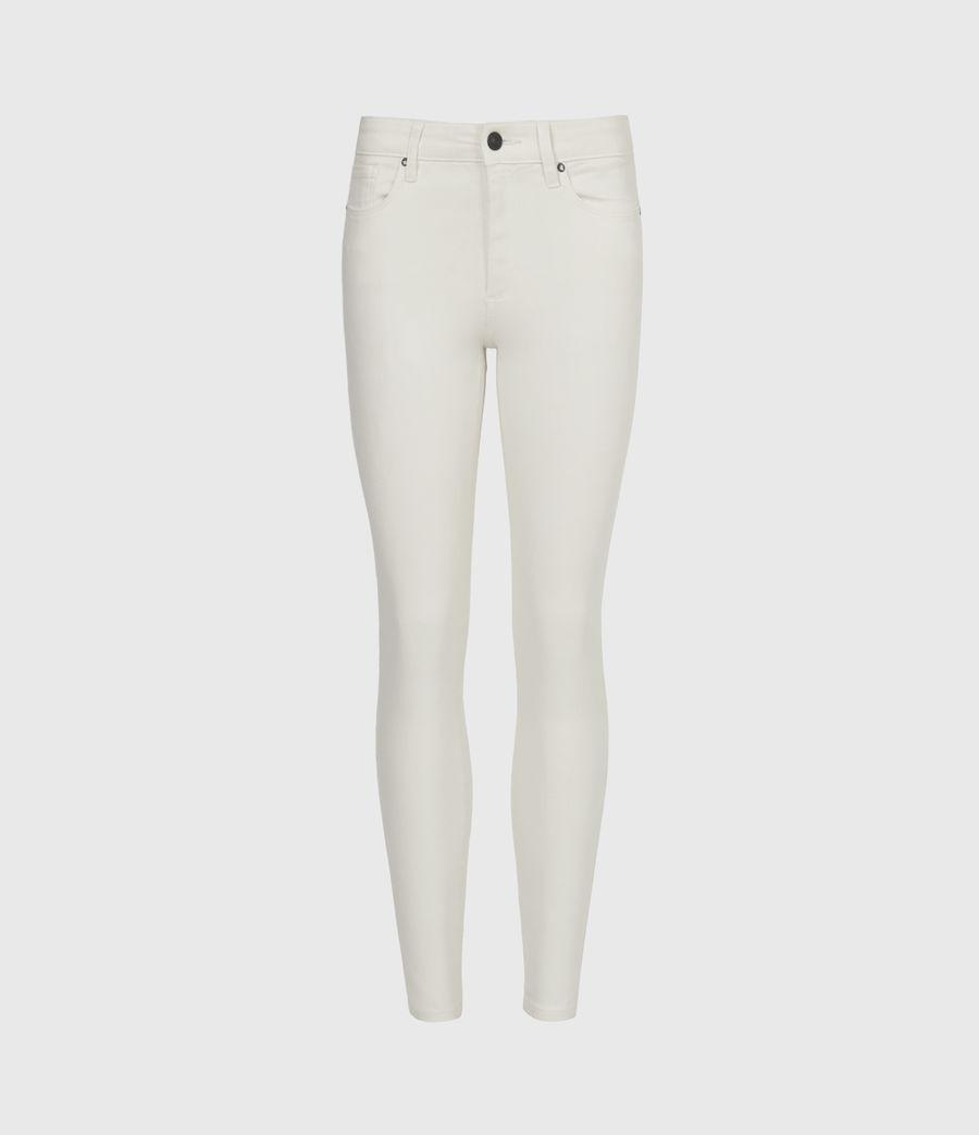 Damen Miller Mittelhoch-Tailliert Skinny Jeans, Weiß (white) - Image 2