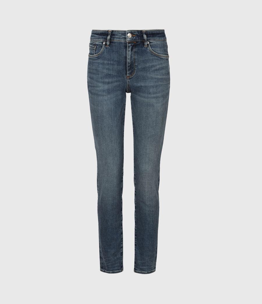 Damen Miller Mid-Rise Size Me Jeans, Hunter Blau (hunter_blue) - Image 2