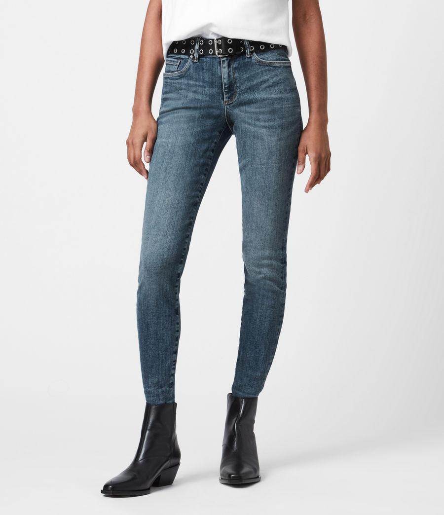 Damen Miller Mid-Rise Size Me Jeans, Hunter Blau (hunter_blue) - Image 4