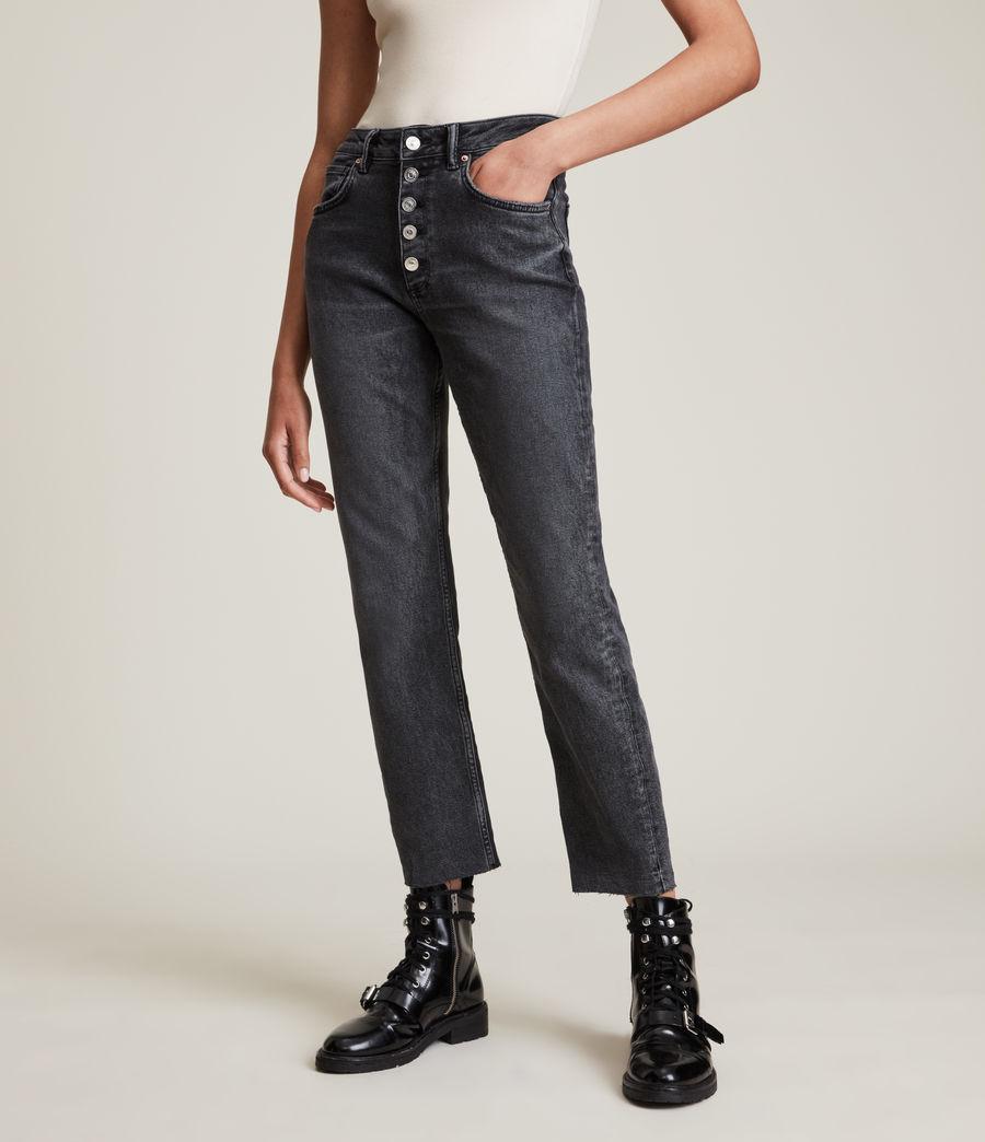 Femmes Jules High-Rise Comfort Stretch Slim Jeans, Vintage Black (vintage_black) - Image 2