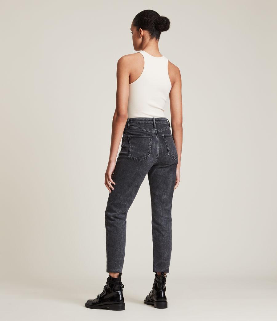 Femmes Jules High-Rise Comfort Stretch Slim Jeans, Vintage Black (vintage_black) - Image 4