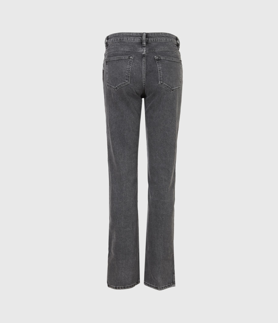 Womens Mia High-Rise Stretch Slim Jeans, Washed Black (washed_black) - Image 3