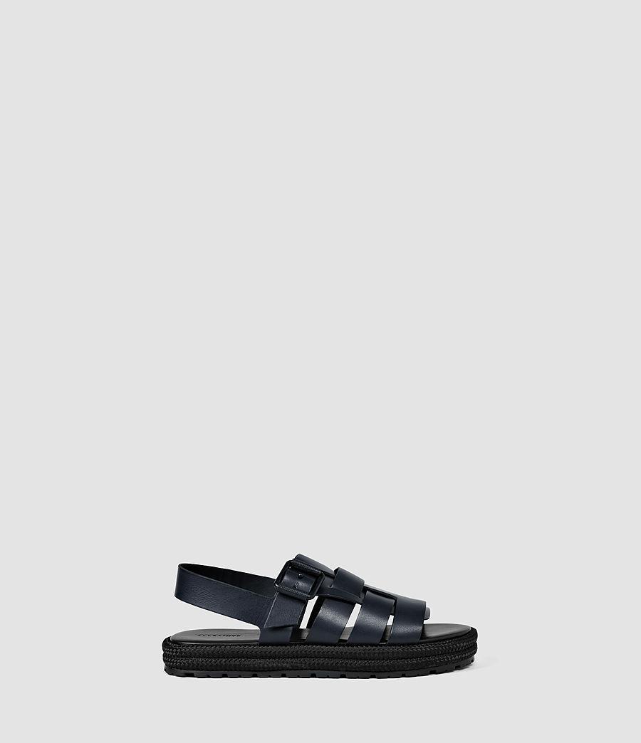 Mujer Botan Sandal (navy_black) - Image 1