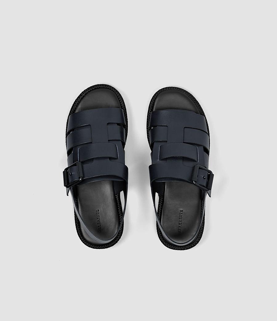 Mujer Botan Sandal (navy_black) - Image 4