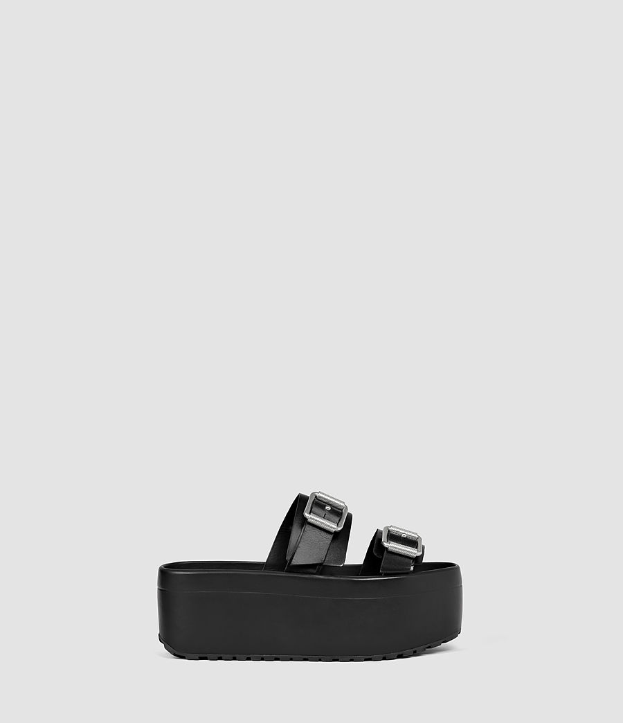 Womens Knox Sandal (black) - Image 1