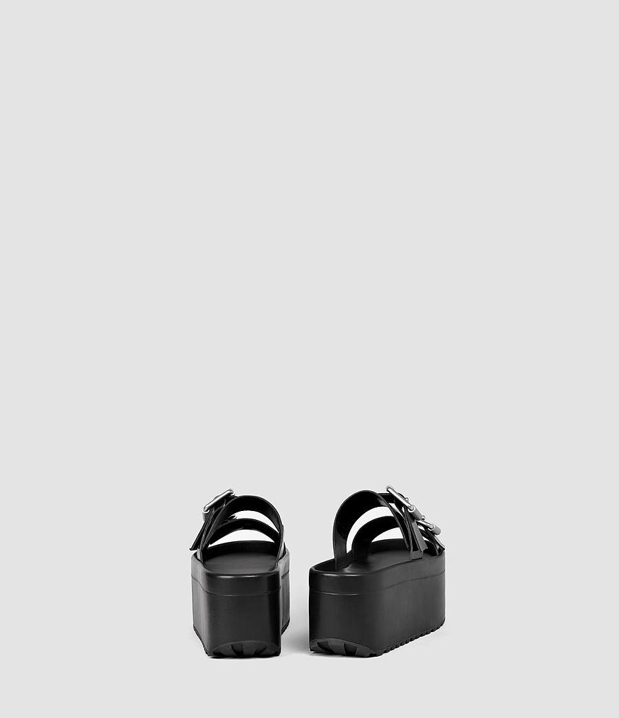 Womens Knox Sandal (black) - Image 3