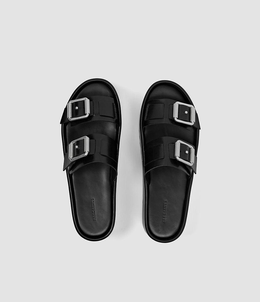 Womens Knox Sandal (black) - Image 4