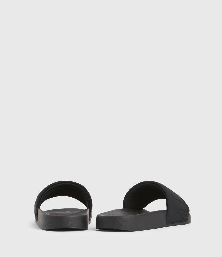 Damen Signet Sliders (black) - Image 6