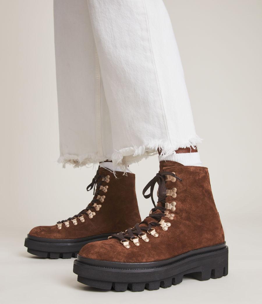 Women's Wanda Suede Boot (warm_tan) - Image 2