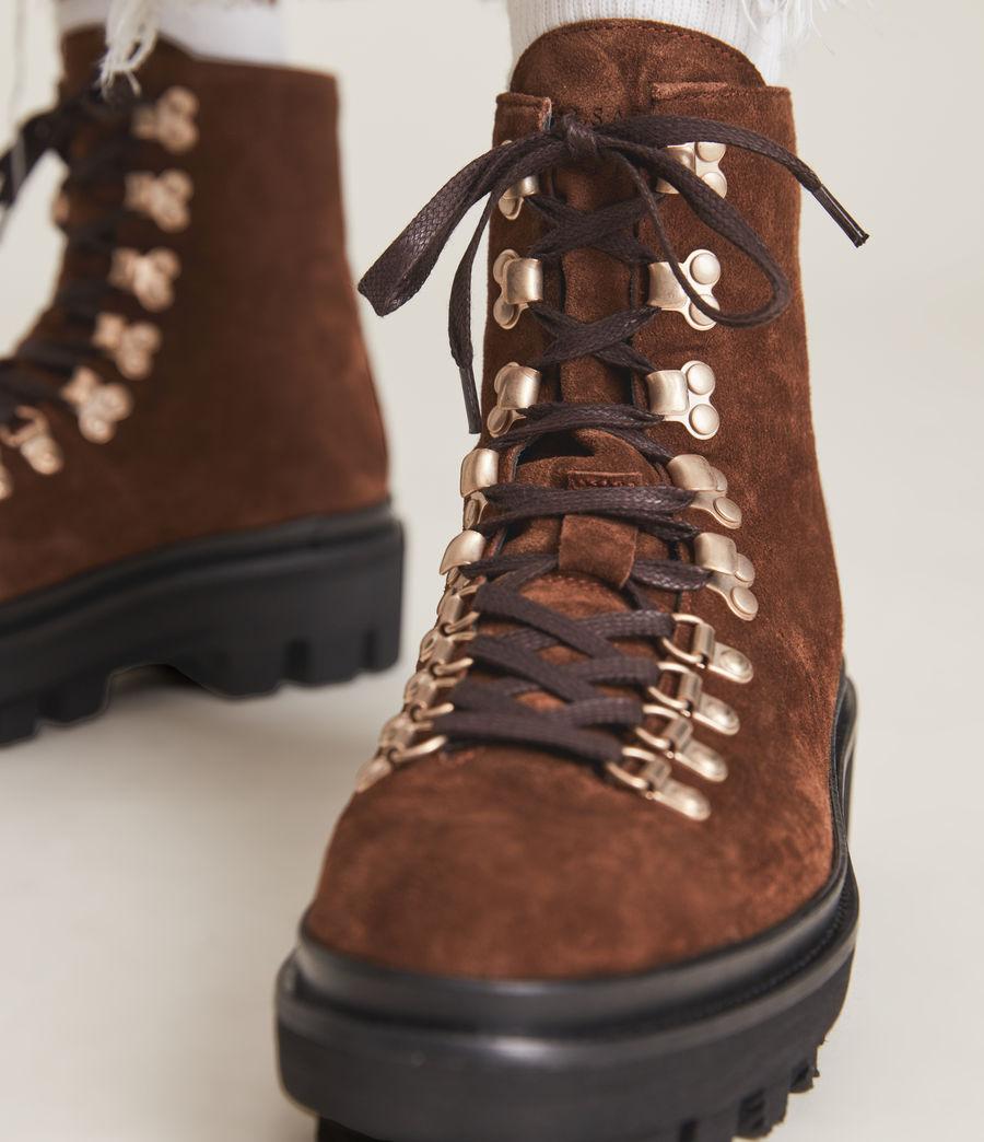 Women's Wanda Suede Boot (warm_tan) - Image 4