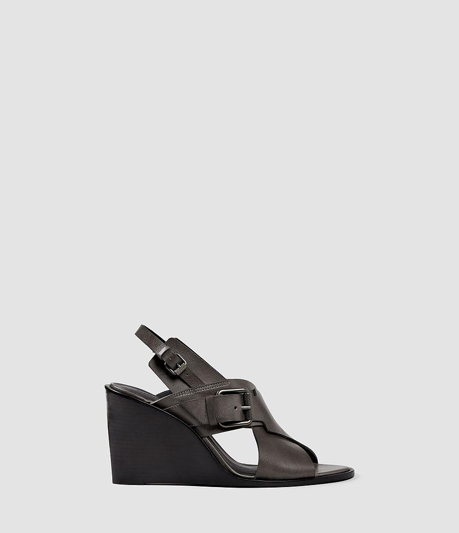 Women's Elin Wedge Sandal (dark_grey) - Image 1