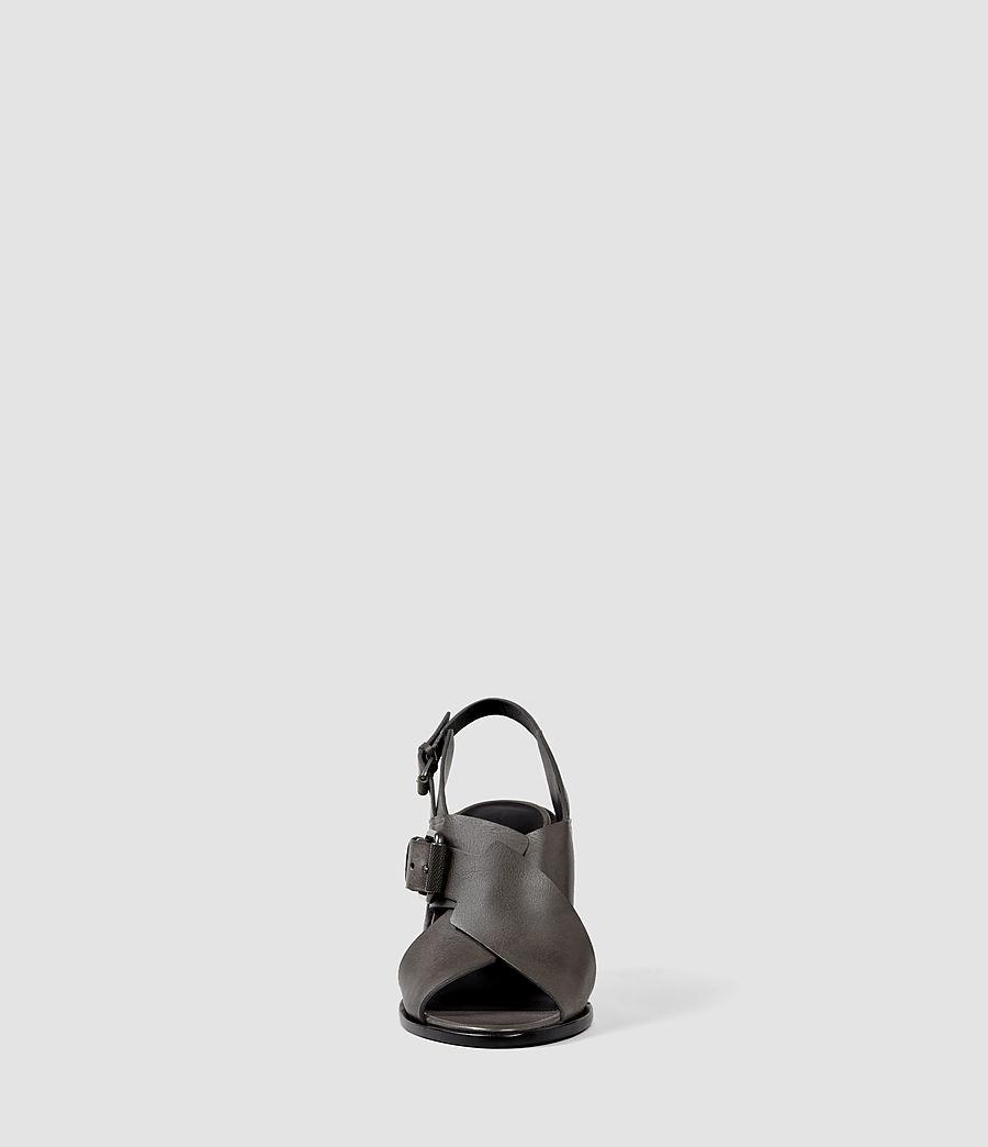 Womens Elin Wedge Sandal (dark_grey) - Image 2