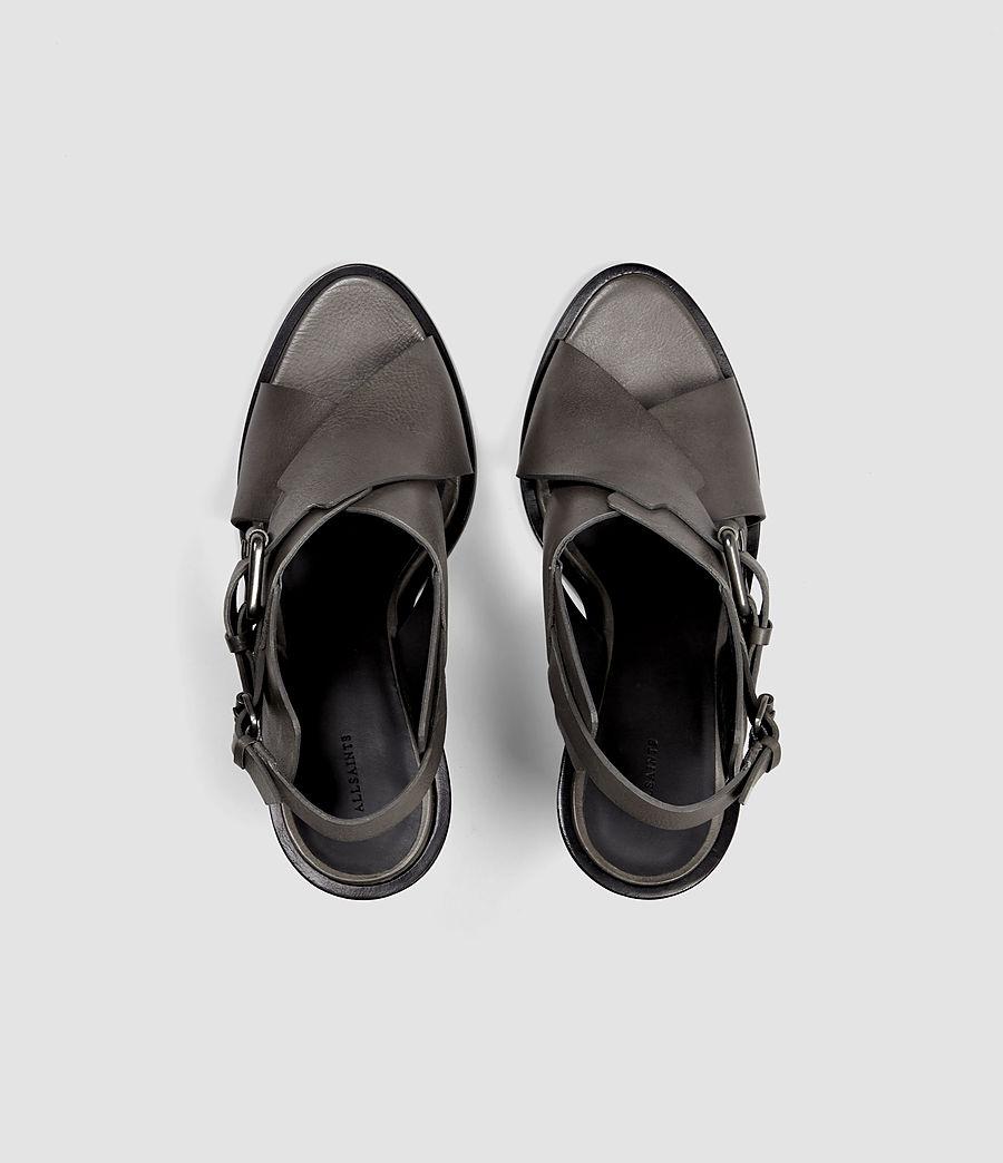 Womens Elin Wedge Sandal (dark_grey) - Image 4