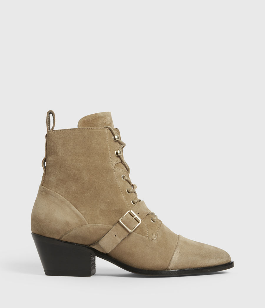 Womens Katy Suede Boots (desert) - Image 1