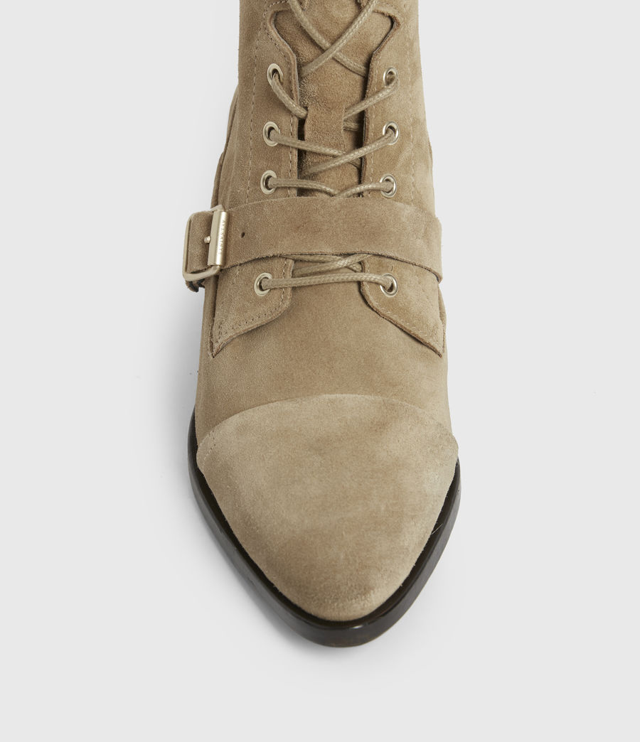 Womens Katy Suede Boots (desert) - Image 2