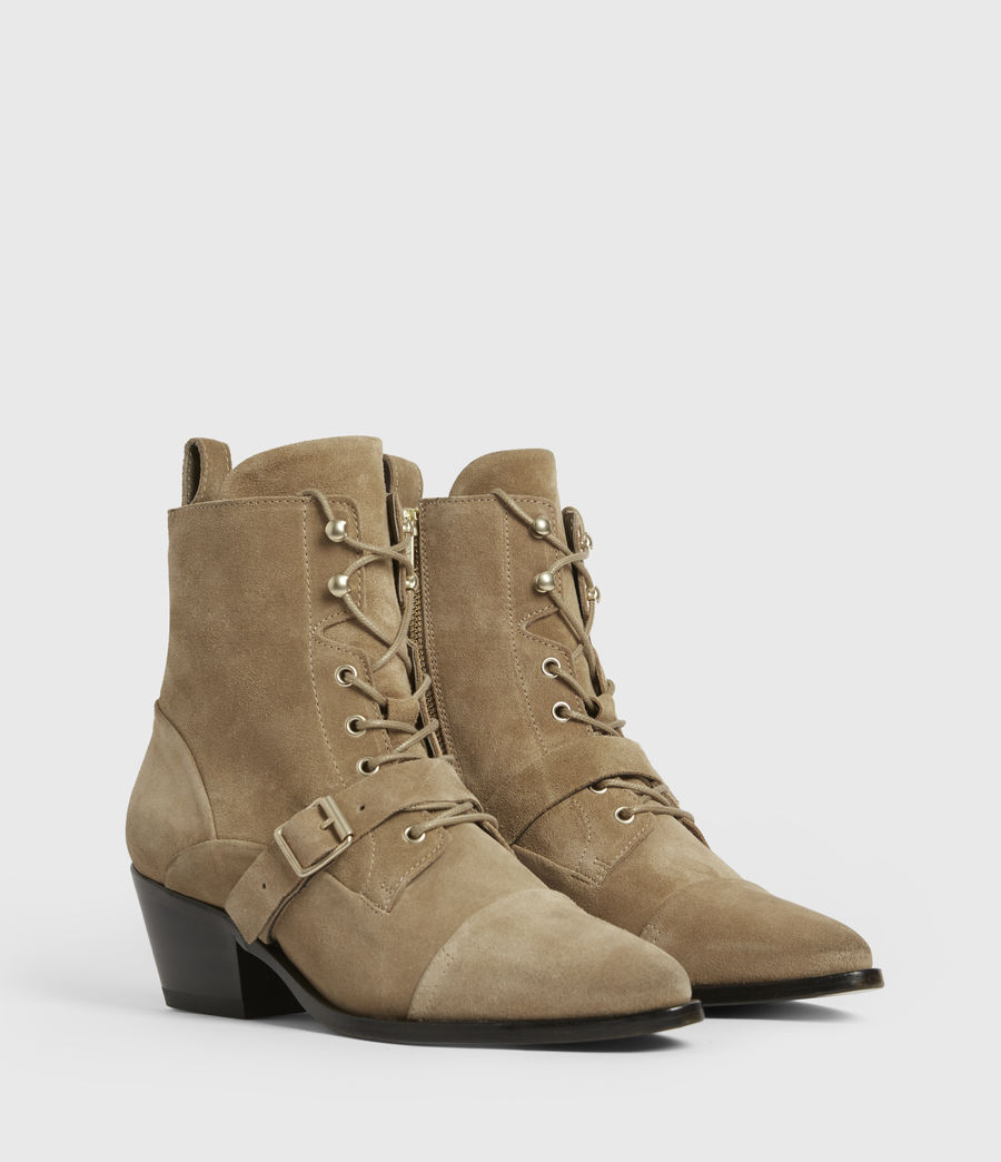 Womens Katy Suede Boots (desert) - Image 3