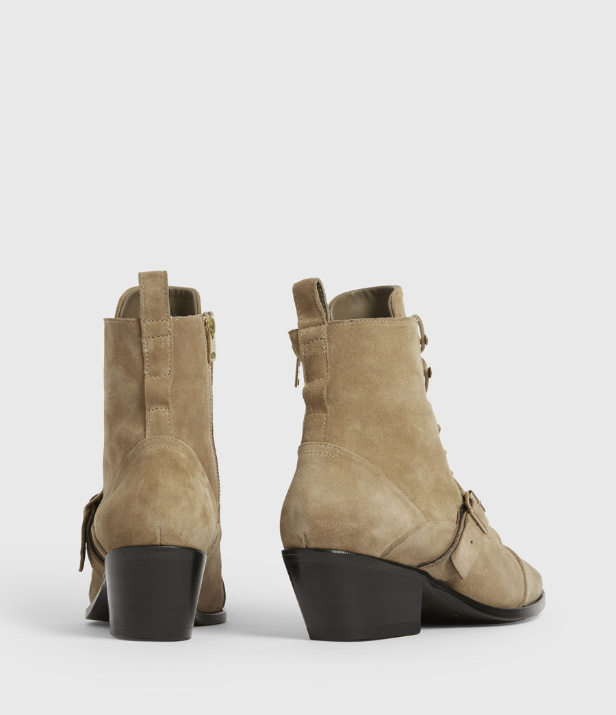 Womens Katy Suede Boots (desert) - Image 4