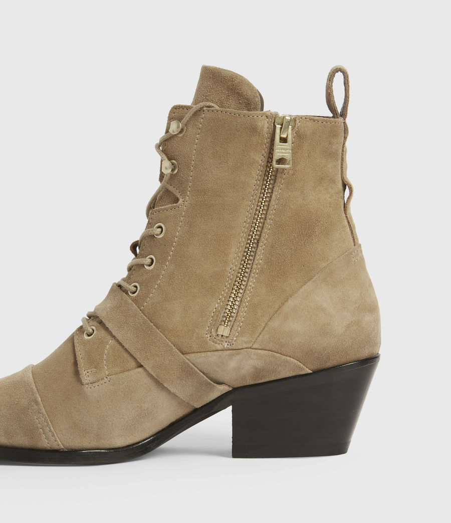 Womens Katy Suede Boots (desert) - Image 5