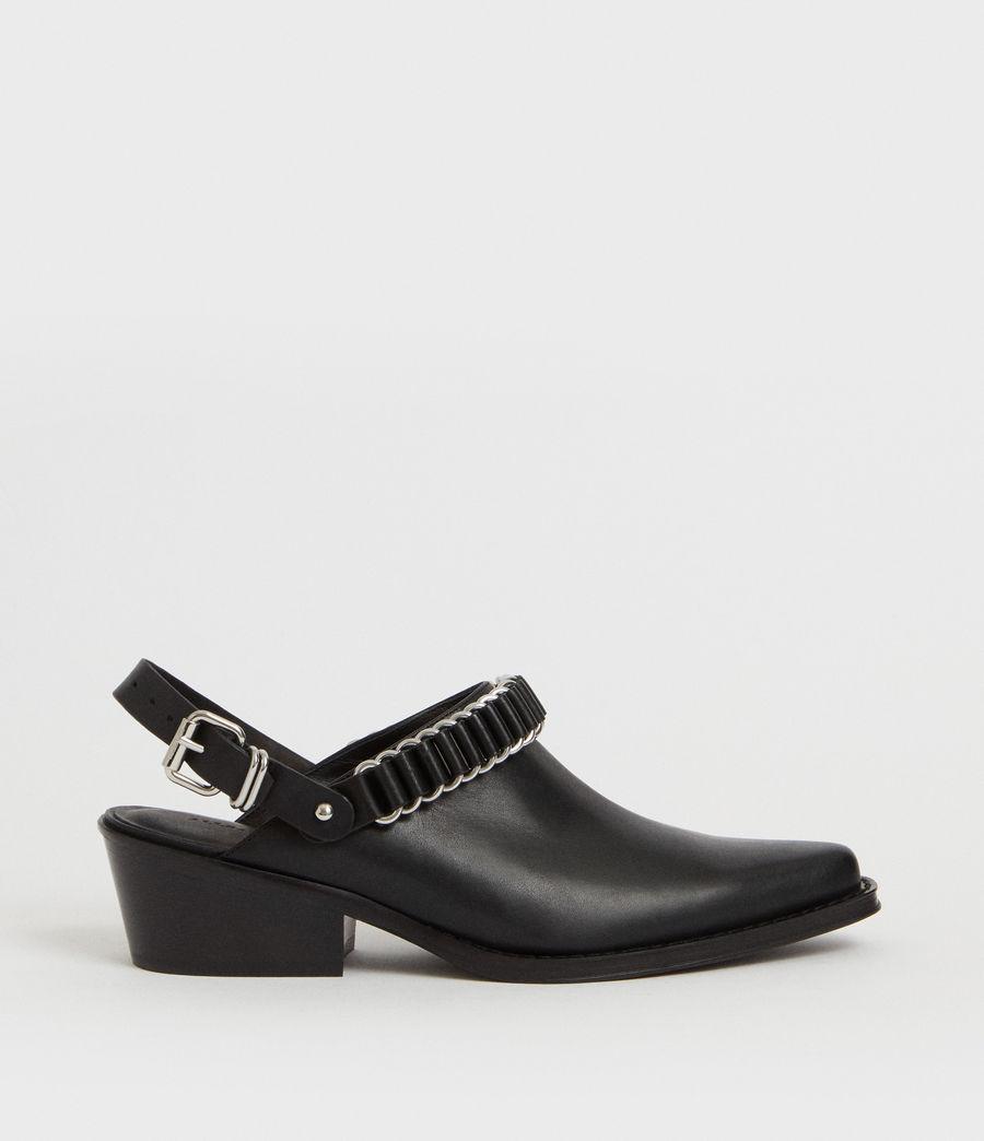 Mujer Zapatos Destalonados Ryder (black) - Image 1